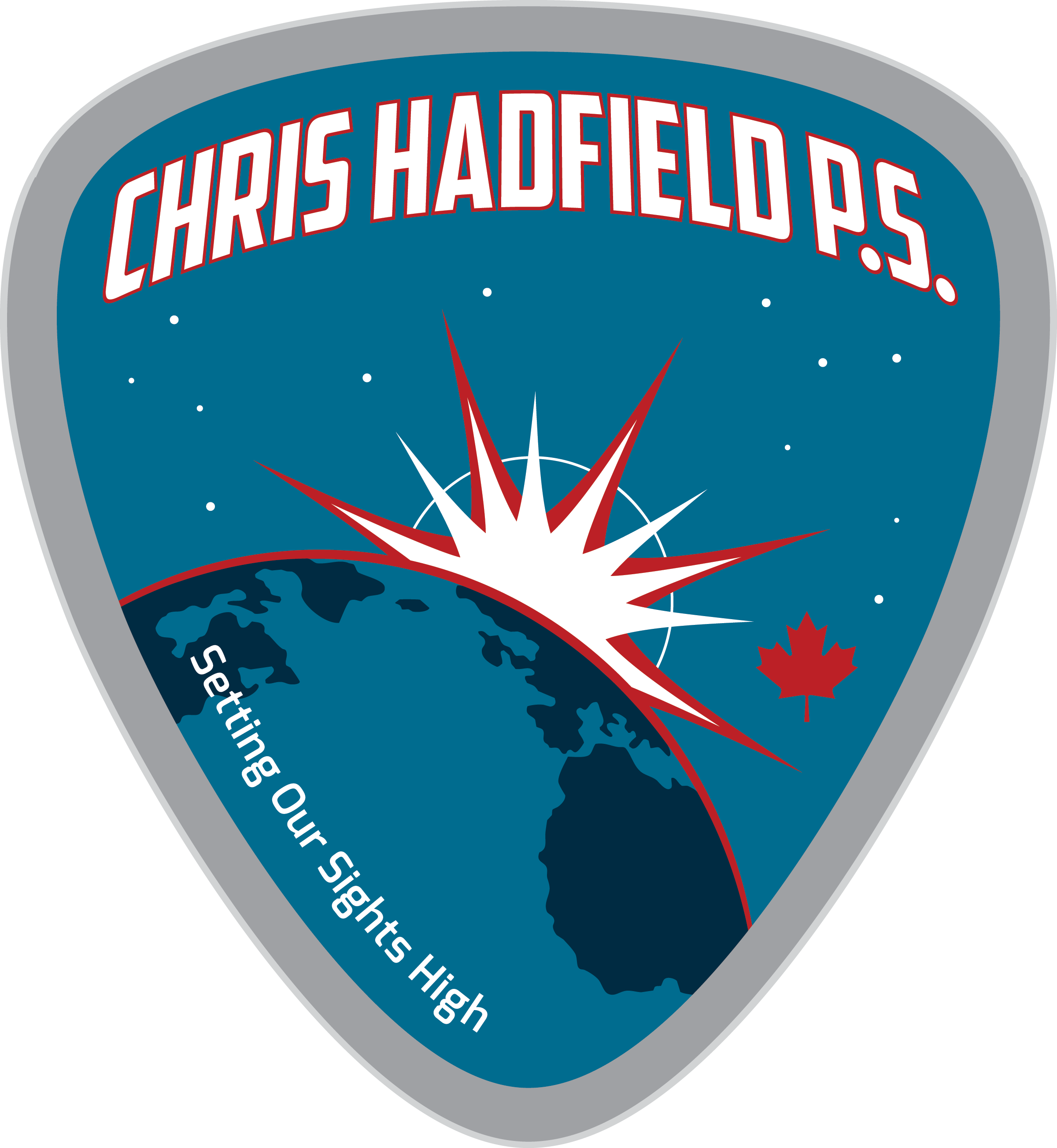 Chris Hadfield Public School logo